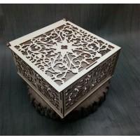 Резные коробки из фанеры