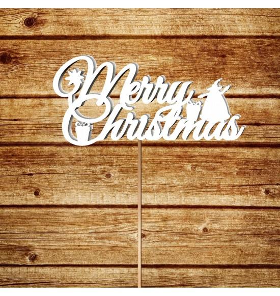 "Топпер ""Merry Christmas"""