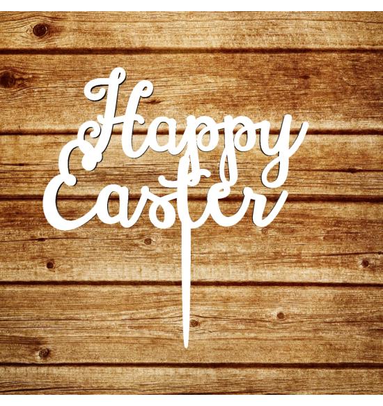"""Пасхальный топпер """"Happy Easter"""" весенний"""