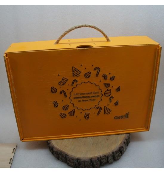 Коробка для подарков на заказ