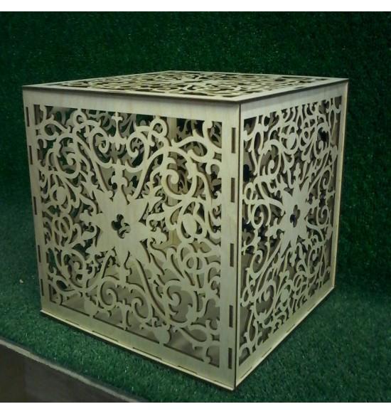 Сундук декоративный куб