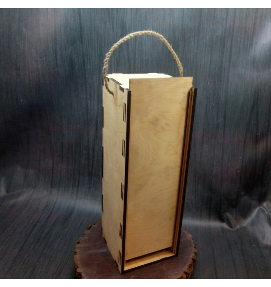 Подарочная коробка для вина/шампанского на одну бутылку