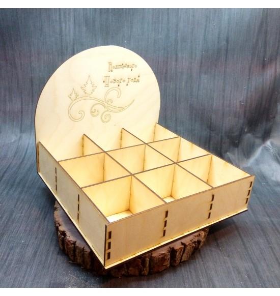 Коробка для мелочи на витрину волшебного Нового Года