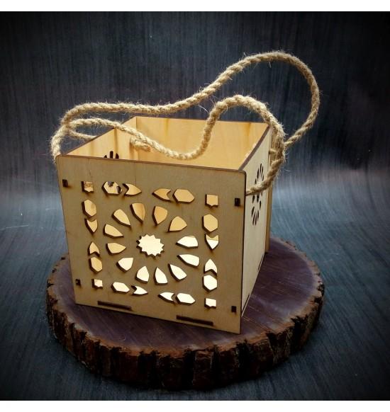 Коробки подарочные, Коробочка Солнце, 15x15x15 см,