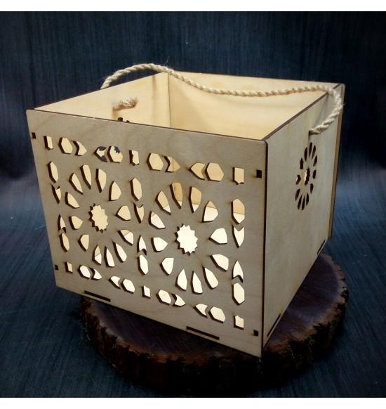 Коробки подарочные, Коробочка Солнце, 25x25x17 см,