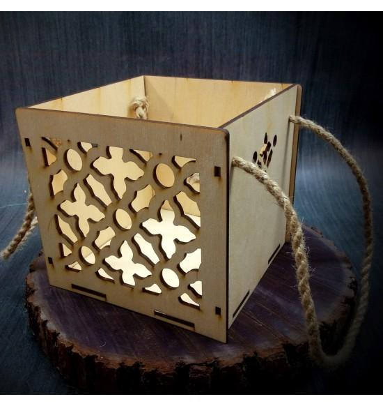 Коробки подарочные, Коробочка Руан, 15x15x15 см,