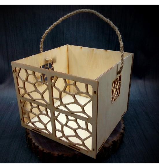 Коробки подарочные, Коробочка Сафари, 25x25x17 см,