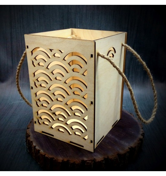 Коробки подарочные, Коробочка Радуга, 22x22x30 см,