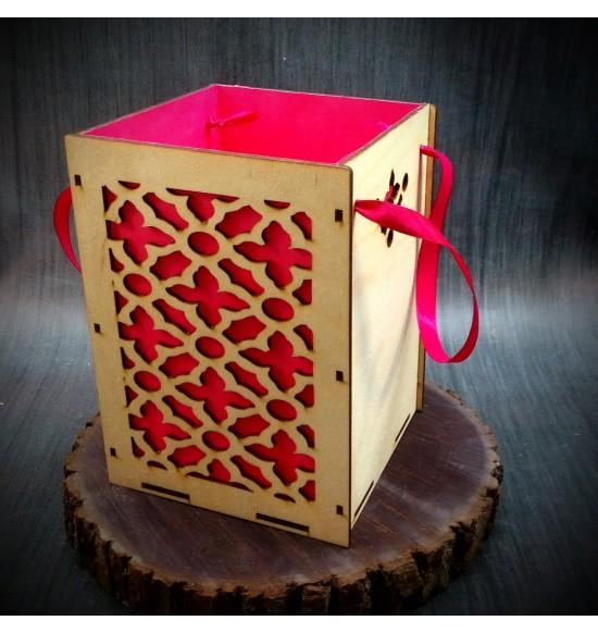 Коробки подарочные, Коробочка Руан, 22x22x30 см,
