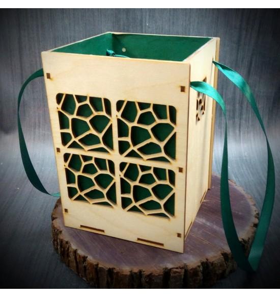 Коробки подарочные, Коробочка Сафари, 22x22x30 см,