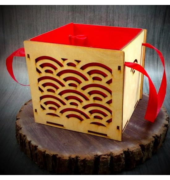 Коробки подарочные, Коробочка Радуга, 15x15x15 см,