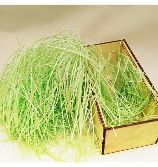 """Наполнитель для подарочных коробок 50г """"зеленый-пастель"""""""
