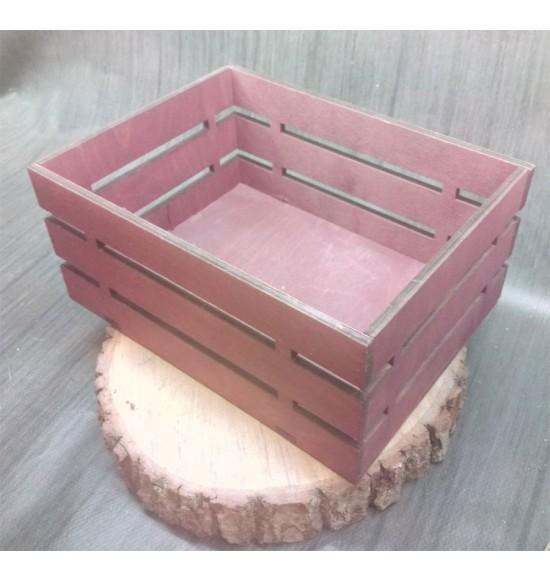 Ящик из фанеры №1 Средний, морилка