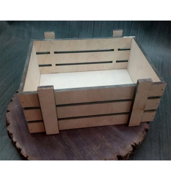 Ящик из фанеры №2 Малый некрашеный