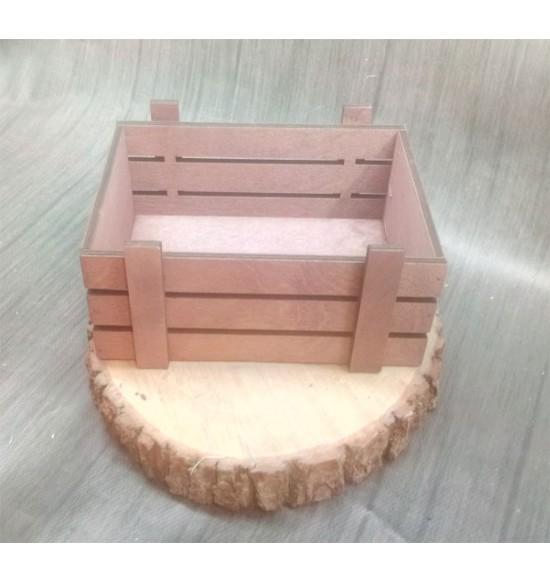 Ящик из фанеры №2 Малый, морилка