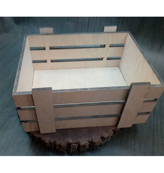 Ящик из фанеры №2 Средний некрашеный
