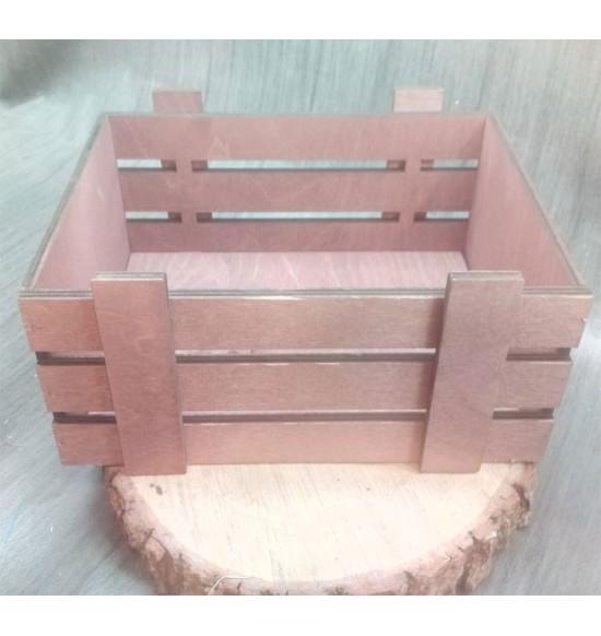 Ящик из фанеры №2 Средний, морилка