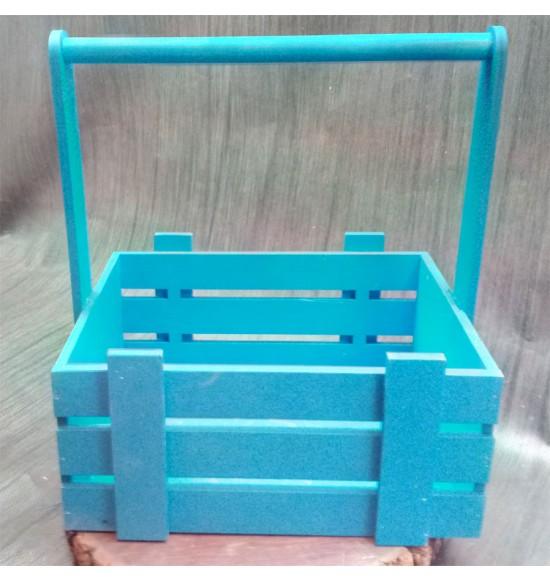 Ящик из фанеры №3. C ручкой, средний, покраска