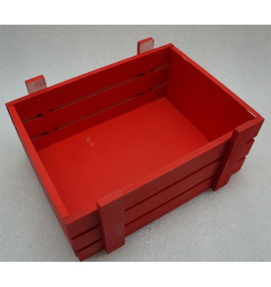 Ящик из фанеры №1 для подарков и цветов, средний, крашеный