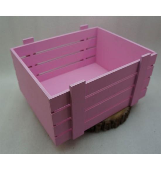 Ящик из фанеры №1 для подарков и цветов, большой, крашеный