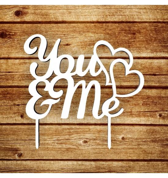"""Топпер """"U and me"""""""